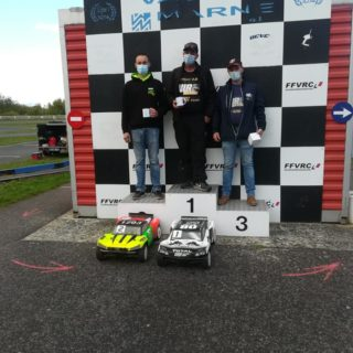 Podium Short Course amicale TT 1/5 Octobre 2020